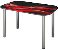 Обеденный стол Senira P-001-01/01-7212 (хром) -