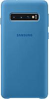 Чехол-накладка Samsung Silicone Cover S10 / EF-PG973TLEGRU (синий) -