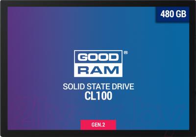 SSD диск Goodram CL100 Gen. 2 480GB (SSDPR-CL100-480-G2)