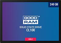 SSD диск Goodram CL100 Gen. 2 240GB (SSDPR-CL100-240-G2) -
