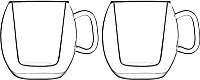 Набор кружек Luigi Bormioli Thermic Cafe Supremo / 10973/01 -