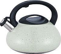 Чайник со свистком Maestro MR-1316 (светло-серый) -