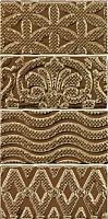 Декоративная плитка Equipe Masia Jewel Gold (150x75) -