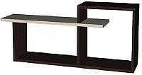 Полка Мебель-Класс Имидж-1 (венге/дуб шамони) -