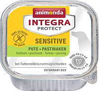 Корм для собак Animonda Integra Protect Sensitive c индейкой и пастернаком / 86539 (150г) -