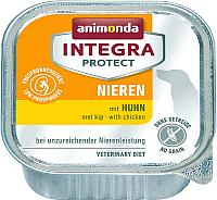 Корм для собак Animonda Integra Protect Nieren c курицей / 86400 (150г) -