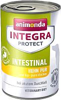 Корм для собак Animonda Integra Protect Intestinal с говядиной / 86414 (400г) -