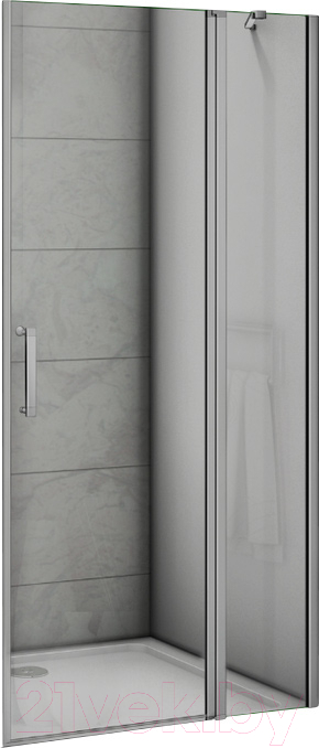 Купить Душевое ограждение Good Door, Mokka WTW-120-C-WE, Россия