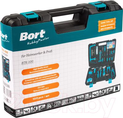 Универсальный набор инструментов Bort BTK-100 (93723521) -