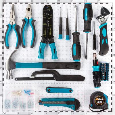 Универсальный набор инструментов Bort BTK-160 (91279040)