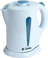 Электрочайник Delta DL-1301 (голубой) -