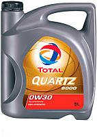 Моторное масло Total Quartz 9000 0W30 / 209314 (5л) -