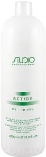 Купить Эмульсия для окисления краски Kapous, ActiOx Studio Professional экст. женьшеня и рисов. прот 3% (1л), Италия