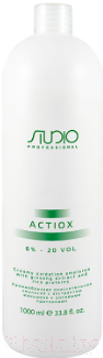 Купить Эмульсия для окисления краски Kapous, ActiOx Studio Professional экст. женьшеня и рис.прот 6% (1л), Италия
