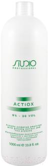 Купить Эмульсия для окисления краски Kapous, ActiOx Studio Professional экст. женьшеня и рисов.прот. 9% (1л), Италия