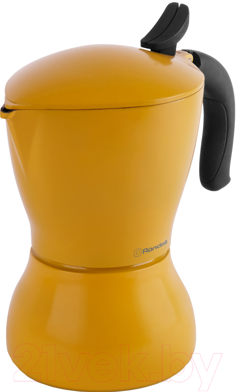 Купить Гейзерная кофеварка Rondell, Sole RDS-1116, Китай, алюминий