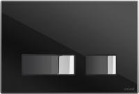 Кнопка для инсталляции Cersanit Movi P-BU-MOV/Blg/Gl (черный глянцевый) -