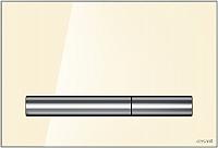 Кнопка для инсталляции Cersanit Pilot / P-BU-PIL/Beg/Gl (стекло/бежевый глянцевый) -