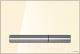 Кнопка для инсталляции Cersanit Pilot P-BU-PIL/Beg/Gl (стекло/бежевый глянцевый) -