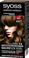 Крем-краска для волос Syoss Salonplex Permanent Coloration 5-8 (ореховый светло-каштановый) -