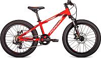 Детский велосипед Format 7412 / RBKM9J607001 2019 (20, красный матовый) -