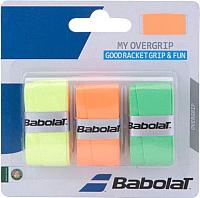Овергрип Babolat My Grip / 653045-215 (3шт, оранжевый/зеленый/желтый) -