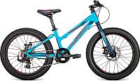 Детский велосипед Format 7423 / RBKM9J607004 2019 (20, бирюзовый матовый) -