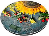 Кухонные весы Lumme LU-1341 (летние цветы) -