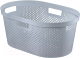 Корзина для белья Curver Infinity 04755-099-00 / 231009 (серый) -