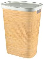 Корзина для белья Curver Infinity / 232118 (бамбук) -