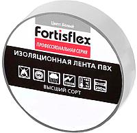 Изолента Fortisflex 71231 (белый) -