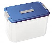 Контейнер для хранения Curver 05001-134-00 / 168809 (прозрачный/синий) -