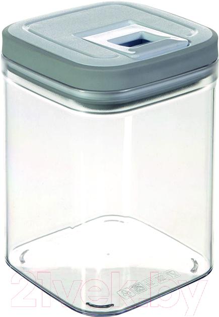 Купить Емкость для хранения Curver, Grand Chef Cube 03031-739-01 / 217835 (серый), Польша, пластик