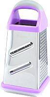 Терка кухонная Fissman 8599 (фиолетовый) -