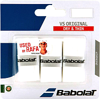 Овергрип Babolat VS Grip Original / 653040-101 (3шт, белый) -