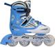 Роликовые коньки Kepai SS-CHIN-F1-V2 (р-р 30-33, голубой/белый) -
