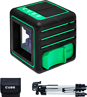 Лазерный уровень ADA Instruments Cube 3D Green Professional Edition (A00545) -