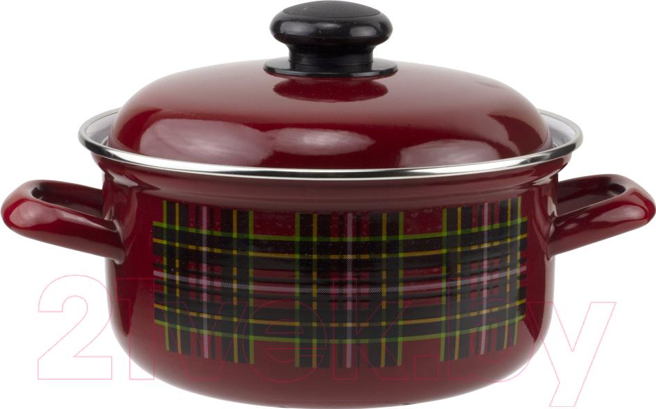 Купить Кастрюля Лысьвенские эмали, Шотландка С-1515 АП2/8Вш, Россия