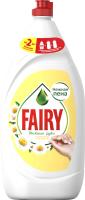 Средство для мытья посуды Fairy Нежные руки. Ромашка и витамин Е (1.35л) -