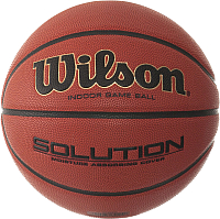Баскетбольный мяч Wilson Solution B0616X (размер 7) -