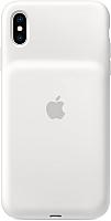 Чехол-зарядка Apple Smart Battery Case для iPhone XS Max White / MRXR2 -