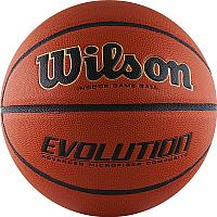 Баскетбольный мяч Wilson Evolution / WTB0516XBEMEA (размер 7) -