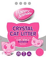 Наполнитель для туалета Happy Animals Белый (3.8л) -
