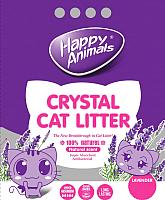 Наполнитель для туалета Happy Animals Лаванда (3.8л) -