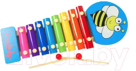 Купить Музыкальная игрушка Ausini, Ксилофон / VT174-1044, Китай, голубой