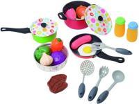 Набор игрушечной посуды PlayGo Металлический набор посуды / 6988 -