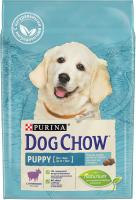 Корм для собак Dog Chow Puppy с ягненком полнорационный (2.5кг) -