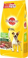 Корм для собак Pedigree C говядиной, рисом и овощами (13 кг, для собак маленьких пород) -