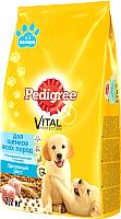 Корм для собак Pedigree Полнорационный для щенков всех пород с 2 месяцев с курицей (2,2 кг) -