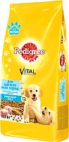 Корм для собак Pedigree Полнорационный для щенков всех пород с 2 месяцев с курицей (13 кг) -
